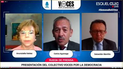 Comunicado público del colectivo 'Voces por la Democracia'