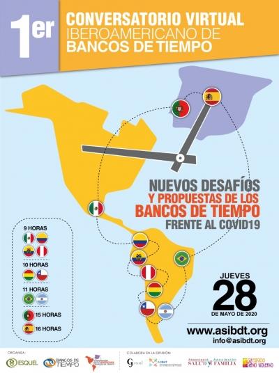 1er Conversatorio iberoamericano virtual de Bancos de Tiempo