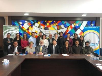 """Cuenca llega a acuerdos para solucionar problemas de centralismo, vialidad y conectividad en el marco de """"Reencuentros Hoy, un Pacto por el Mañana"""""""