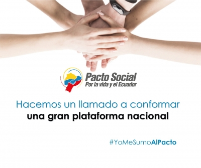 El Pacto Social por la Vida y el Ecuador y la necesidad de lograr un Gran Acuerdo Nacional