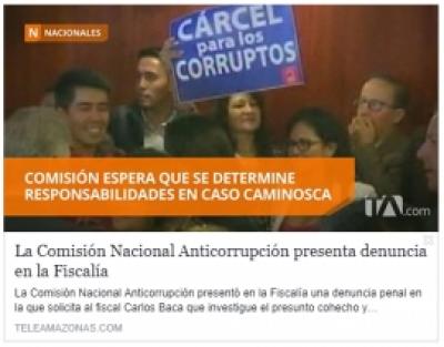 Apoyo CNA caso Caminosca