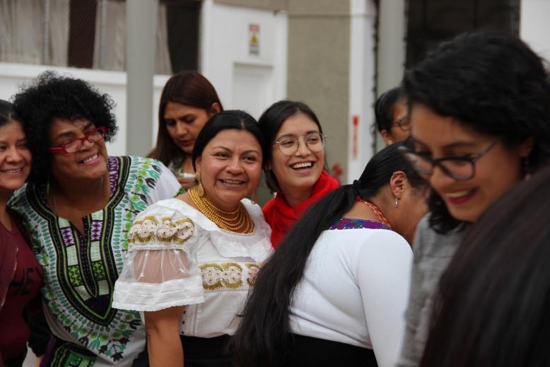 """Descarga memoria del evento """"Mujeres en la política"""""""