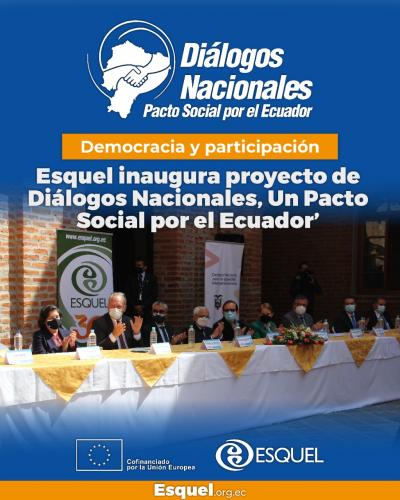 DIÁLOGOS NACIONALES, UN PACTO SOCIAL POR EL ECUADOR