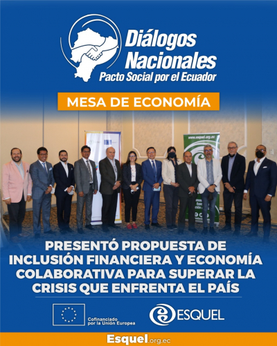 Se presentó propuesta de inclusión financiera y economía colaborativa para superar la crisis que enfrenta el país