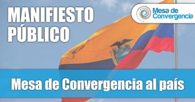 La Mesa de Convergencia al País